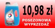 Dyskontowa cena płynu do spryskiwaczy TOTAL - ELF. 10,98 zł za sztukę